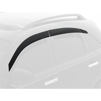 Auto Ventshade 896007 Seamless Ventvisor Window Deflector, 6 Piece