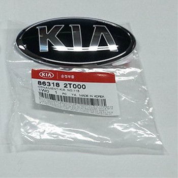 Kia Motors OEM Genuine 863182T000 Front Hood Emblem 1-pc For 2011 ~ 2015 Kia Optima : K5