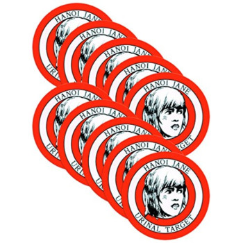 Hanoi Jane Urinal Target, Package of 10