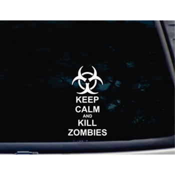 Keep Calm and Kill Zombies - Biohazard - 3 3/4