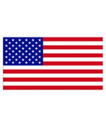 American Flag (Bumper Sticker)