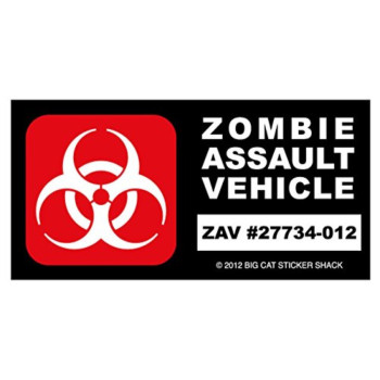 Zombie Assault Vehicle (Bumper Sticker)