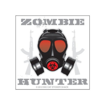 Zombie Hunter (Bumper Sticker)