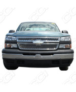 2011-2013 Chevy Silverado HD Chrome Grille Overlay 2500 3500