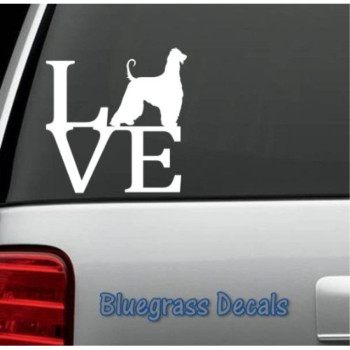 B1018 Afghan Hound Love Dog Decal Sticker for Car Truck SUV Van Laptop Boat Trailer