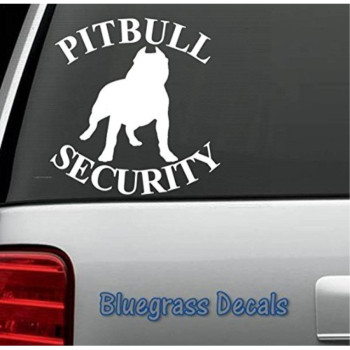 B1050 PIT BULL TRIBAL PITBULL SECURITY DECAL Sticker for Car TRUCK SUV or LAPTOP DOG PUPPY ART