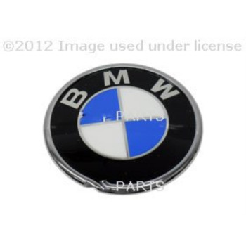 BMW Genuine Trunk Emblem Trunk Lid Badge E46 Convertible