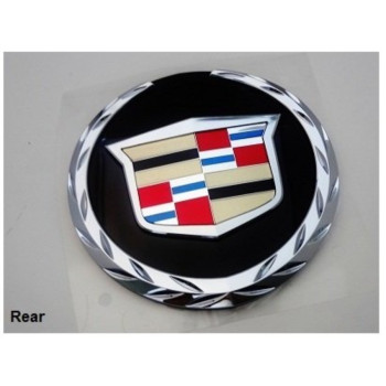 Gm Factory Cadillac Escalade 07 Thru 13 Rear Tailgate Wreath And Crest