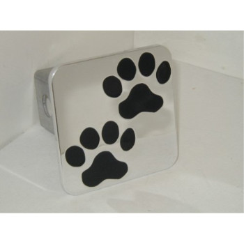 Paws Hitch Cover Black