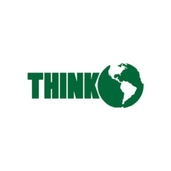 Think Green - Environmental - Sticker - Decal - Die Cut
