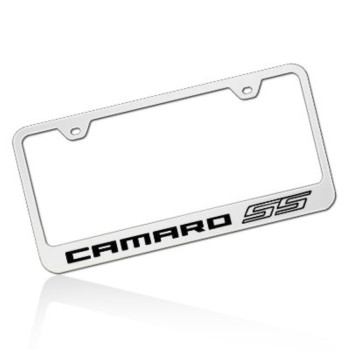 Chevrolet 2010 Camaro SS Polished Stainless Steel License Frame