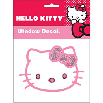 Chroma 001122 Cling Bling 'Hello Kitty' Decal