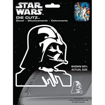 Chroma 3940 Star Wars Darth Vader Die Cutz Decal