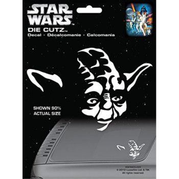 Chroma 3943 Star Wars Yoda Die Cutz Decal
