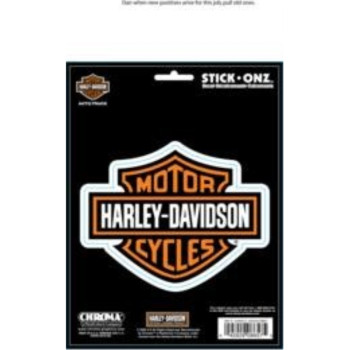 Harley-Davidson B&S Stick-Onz Decal