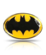 Batman Yellow Metal Auto Emblem, Official Licensed