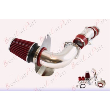 94 95 Ford Mustang 5.0L V8 Cold Air Intake + Red Filter CFD2R