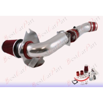 99 00 01 02 03 04 Ford Mustang 3.8L V6 Cold Air Intake + Red Filter CFD6R