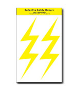 Lightning Bolts REFLECTIVE Decals