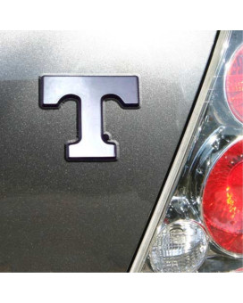 "University of Tennessee Volunteers ""Power T"" Chrome Plated Premium Metal Car Truck Motorcycle Emblem"