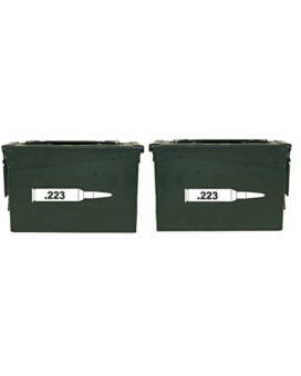 FGD .223 ammo box Label Set (bullet DECALS) NO BOX INCLUDED Four decals included