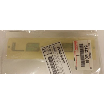 Toyota Genuine Parts 75443-50010 Lexus