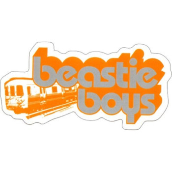 Licenses Products Beastie Boys Train Sticker