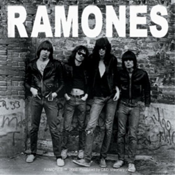 Licenses Products The Ramones 1st Album Cover Sticker
