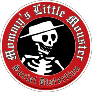 Licenses Products Social Distortion Little Mon Sticker