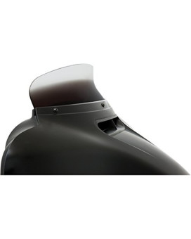 "Memphis Shades Batwing Fairing Spoiler 4.5"" Windshield - Ghost"