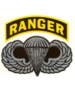Army Ranger Parawing Decal Sticker