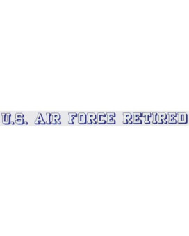 United States Air Force RETIRED - Window Strip Decal
