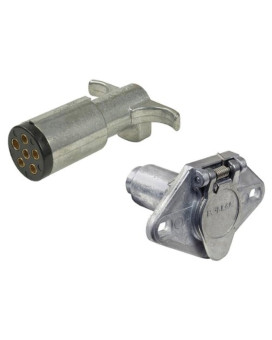 Pollak 11-609EP Metal 6-Way Socket