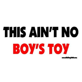 This Ain't No Boy's Toy Offroad Bumper Sticker / Decal
