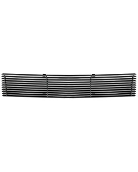 TRex Grilles 25028B Horizontal Aluminum Black Finish Billet Bumper Grille Overlay for Chevrolet Camaro SS
