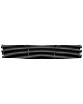 TRex Grilles 25569B Horizontal Aluminum Black Finish Billet Bumper Grille Bolt-on for Ford F150