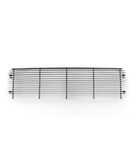 TRex Grilles 25780 Horizontal Aluminum Polished Finish Billet Bumper Grille Bolt-on for Nissan Titan Armada