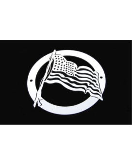 T-Rex Grilles L1001 US Flag Logo for Stainless Steel Grille