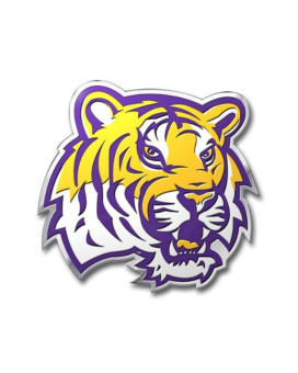NCAA LSU Tigers Die Cut Color Automobile Emblem