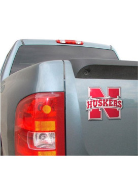 NCAA Nebraska Cornhuskers Die Cut Color Automobile Emblem