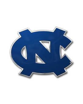 NCAA North Carolina Tar Heels Die Cut Color Automobile Emblem