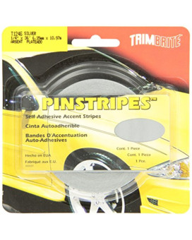 Trimbrite T1246 Trim Stripe 1/4  Silver