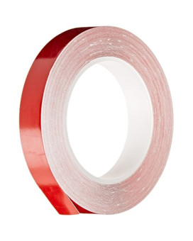 Trimbrite T8002 1/2X36 Red Pin Stripe