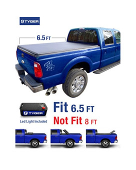 TYGER Tri-Fold Pickup Tonneau Cover Fits 99-16 Ford F-250/F-350 Super Duty 6.5 feet (78 inch) Trifold Truck Cargo Bed Tonno Cover (NOT For Stepside)