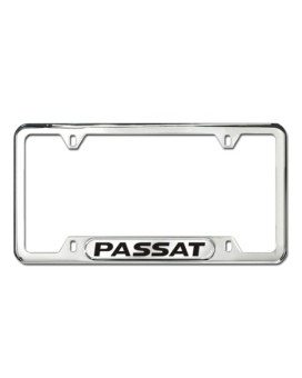 Volkswagen Passat Polished Steel License Frame