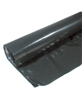 Warp Brothers 4CH350-B 4 Mil Consumer Roll Black Plastic Sheeting, 3-Foot by 50-Foot