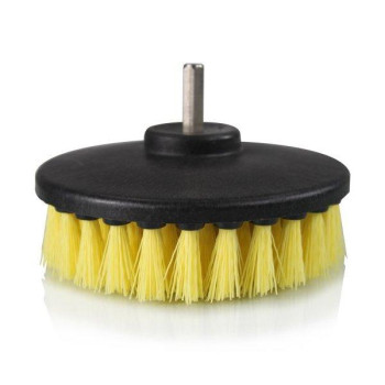 Chemical Guys ACC201BRUSHMD Medium Duty Carpet Brush with Drill Attachment, Yellow