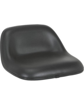 A & I Lowback Universal Lawn and Garden Tractor Seat - Black, Model# LMS2002