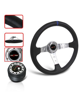 Steering Wheel With Adapter Hub With Horn Button Accord Prelude Jdm Pe