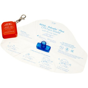 ADC ADSAFE Face Shield Plus with Keychain, Adult, Orange